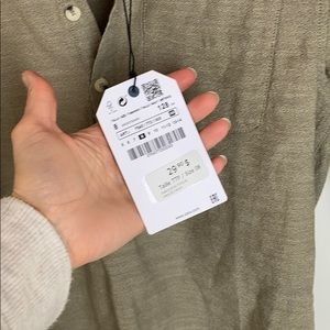 Zara Shirts & Tops - Boys shirt (optional rolled sleeve)